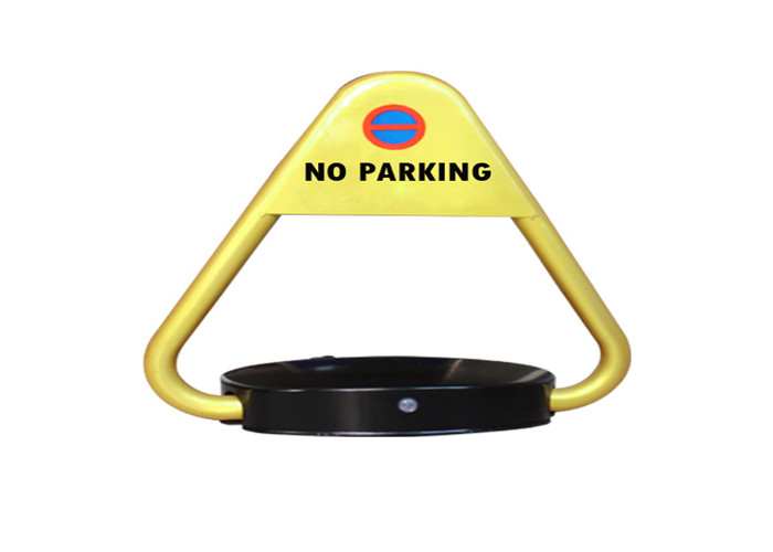 Dustproof Safety Car Parking Space Protector Car Park Lock With DC 6V Battery