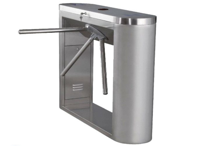 Hotel Heavy Duty Controlled Access Turnstiles Security 30 Person Per Minute