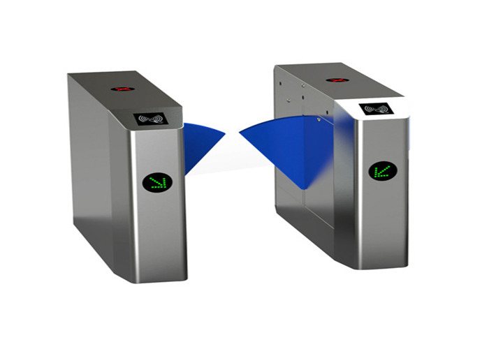 Face recognition Infrared Sensor Speed Gates 600mm lane width with entrance LED indicator