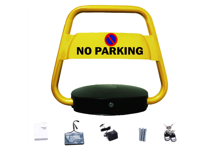 180 Degree Car Parking Block Barrier System IP57 Waterproof Remote Control DC 6V