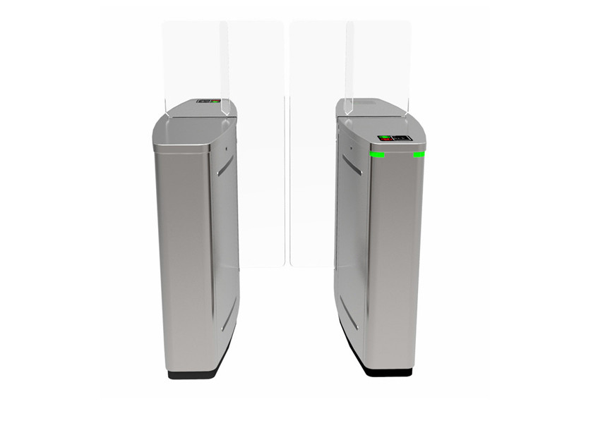 Face recognition system retractable fast transit speed full height sliding type turnstile gate